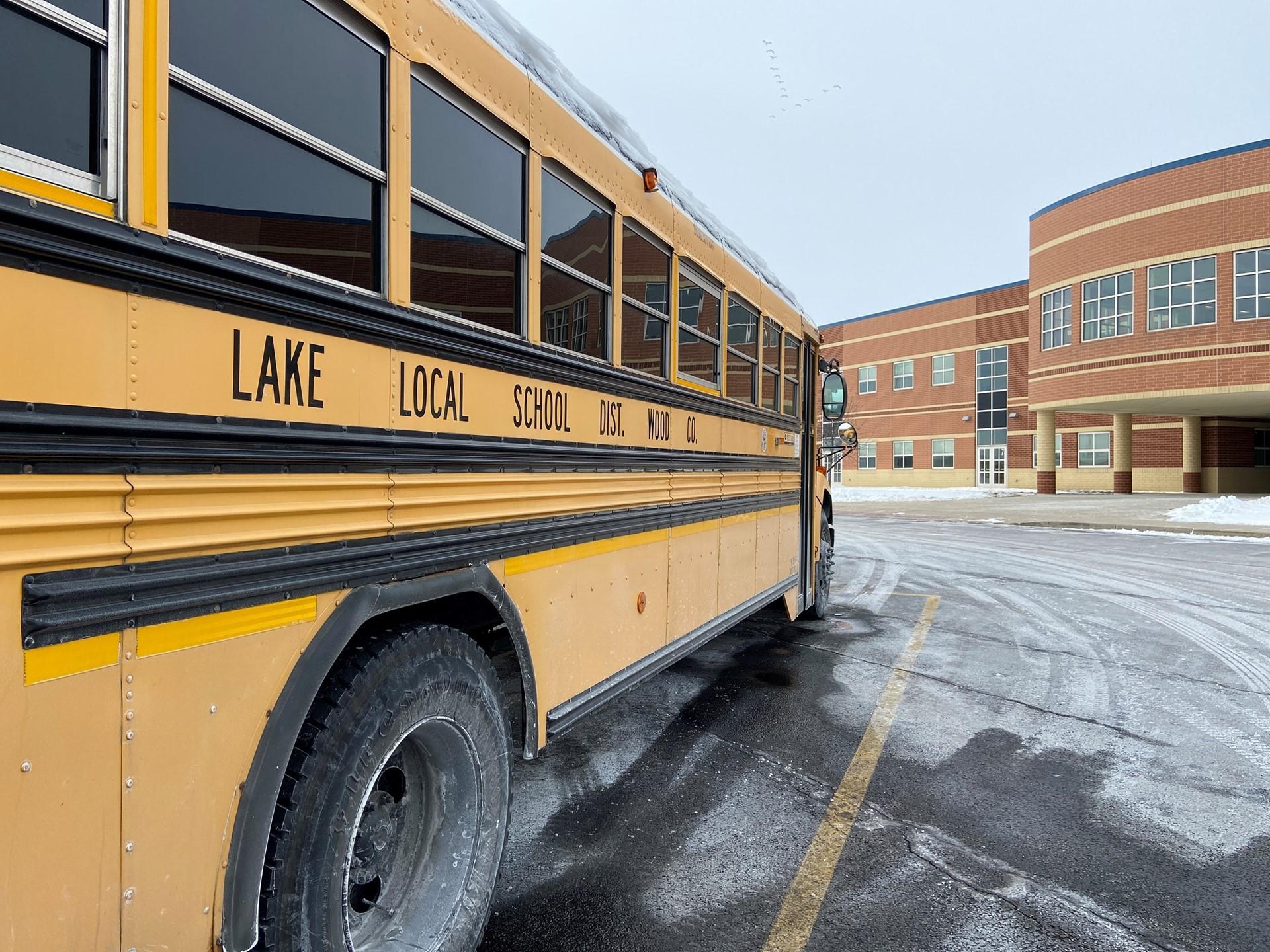 Lake Local Schools bus